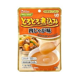 【送料無料】ハウス食品 やさしくラクケア とろとろ煮込みの肉じゃが味 80g×40個入 nozomi-market