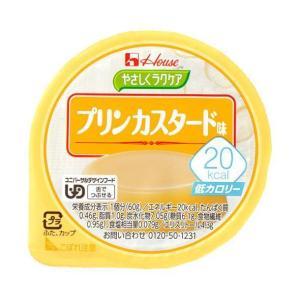 【送料無料】ハウス食品 やさしくラクケア 20kcal プリンカスタード味 60g×48(12×4)個入 nozomi-market