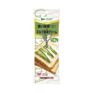 送料無料 アヲハタ ヴェルデ 濃い抹茶&ミルク風味クリーム (11g×4個)×12袋入|nozomi-market