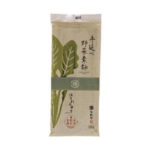 送料無料 マル勝高田 手延べ野菜素麺 ほうれんそう 200g×20袋入|nozomi-market