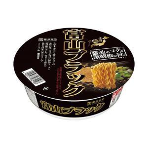 送料無料 寿がきや 全国麺めぐり 富山ブラックラーメン 108g×12個入|nozomi-market