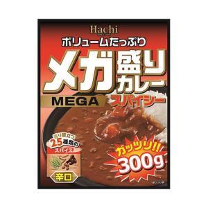 【送料無料】【2ケースセット】ハチ食品 メガ盛りカレー スパイシー 辛口 300g×20個入×(2ケース) nozomi-market