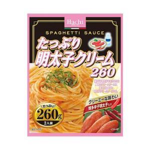 【送料無料・2ケースセット】ハチ食品 たっぷり明太子クリーム260 260g×24個入×(2ケース) nozomi-market
