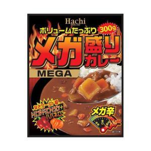 【送料無料】【2ケースセット】ハチ食品 メガ盛りカレー メガ辛 300g×20(10×2)個入×(2ケース) nozomi-market