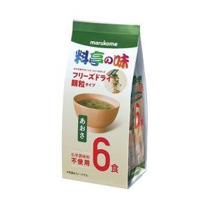 送料無料 マルコメ お徳用 フリーズドライ顆粒 料亭の味 あおさ 6食×12袋入|nozomi-market