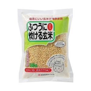 送料無料 越後製菓 ふつうに炊ける玄米 500g×10袋入|nozomi-market