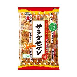 送料無料 越後製菓 サラダセブン 135g(22.5g×6)×12袋入|nozomi-market