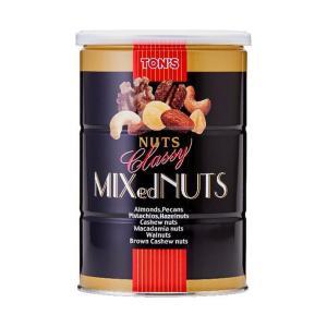 【送料無料】東洋ナッツ食品 トン クラッシー ミックスナッツ 360g缶×6個入|nozomi-market