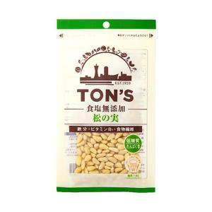 【送料無料】東洋ナッツ食品 トン 食塩無添加 松の実 28g×10袋入|nozomi-market