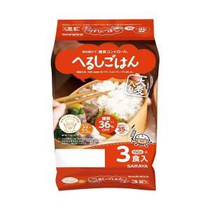 送料無料 サラヤ へるしごはん 3食 (150g×3個)×8個入|nozomi-market