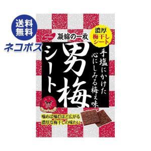 【全国送料無料】【ネコポス】ノーベル製菓 男梅シート 27g×6袋入|nozomi-market