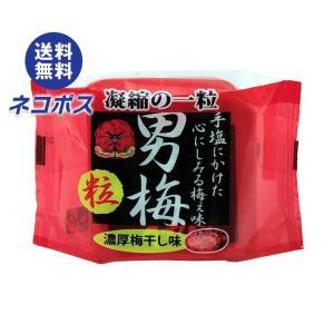 【全国送料無料】【ネコポス】ノーベル製菓 男梅粒 14g×6袋入|nozomi-market