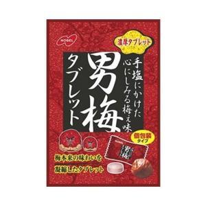 【送料無料】【2ケースセット】ノーベル製菓 男梅タブレット 55g×6袋入×(2ケース)|nozomi-market