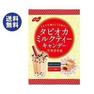 【送料無料】【2ケースセット】ノーベル製菓 タピオカミルクティー 90g×6袋入×(2ケース)|nozomi-market