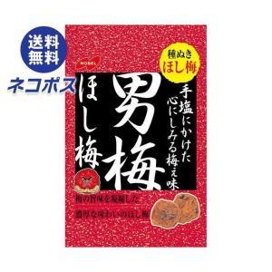 【全国送料無料】【ネコポス】ノーベル製菓 男梅ほし梅 20g×6個入|nozomi-market