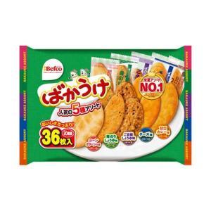 送料無料 栗山米菓 ばかうけアソート 40枚×10袋入の商品画像