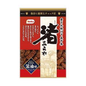 送料無料 栗山米菓 渚あられ しょうゆ味 100g×12袋入|nozomi-market