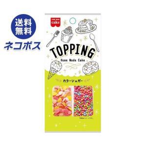 【全国送料無料】【ネコポス】共立食品 トッピング カラーシュガー 12g×5袋入|nozomi-market