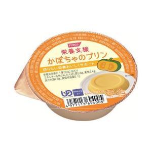 送料無料 ホリカフーズ 栄養支援 かぼちゃのプリン 54g×12個入|nozomi-market