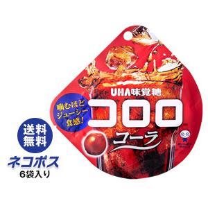【全国送料無料】【ネコポス】送料無料 UHA味覚糖 コロロ コーラ 40g×6袋入|nozomi-market