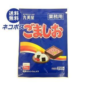 【全国送料無料】【ネコポス】【2袋】丸美屋 ごましお(業務用) 250g×2袋入|nozomi-market