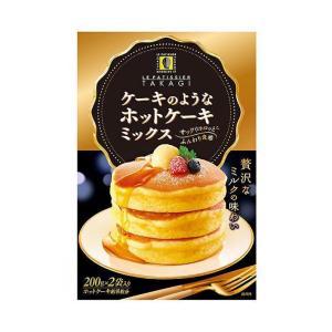 【送料無料】【2ケースセット】昭和産業 ケーキのようなホットケーキミックス 400g(200g×2袋)×6箱入×(2ケース)|nozomi-market