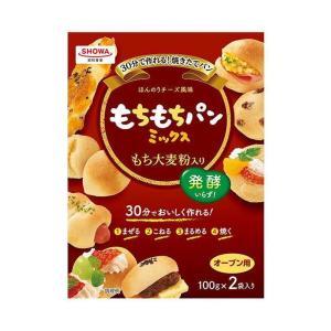 【送料無料】昭和産業 (SHOWA) もちもちパンミックス (100g×2袋)×6箱入|nozomi-market