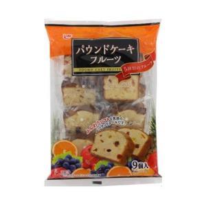 送料無料 エースベーカリー パウンドケーキフルーツ 9個×8袋入|nozomi-market