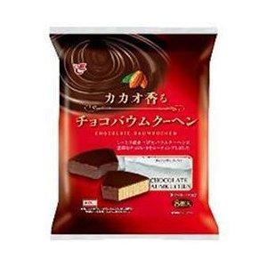 送料無料 エースベーカリー カカオ香るチョコバウムクーヘン 8個×8袋入|nozomi-market