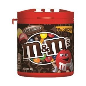 【送料無料】マースジャパン M&M'S(エム&エムズ) ボトルミルクチョコレート 90g×4個入