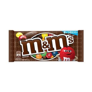 【送料無料】マースジャパン M&M'S(エム&エムズ) ミルクチョコレートシングル 40g×12袋入