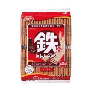 送料無料 ハマダコンフェクト 鉄プラスコラーゲンウエハース 40枚×10袋入|nozomi-market
