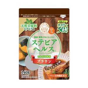 送料無料 日本リコス ステビアヘルス ブラウン 140g袋×6袋入|nozomi-market