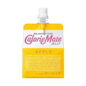 【送料無料】大塚製薬 カロリーメイトゼリー アップル味 215gパウチ×24本入|nozomi-market