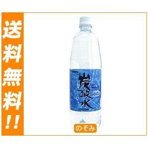 【送料無料】木村飲料 KIMURA炭酸水 1000mlペットボトル×12本入|nozomi-market