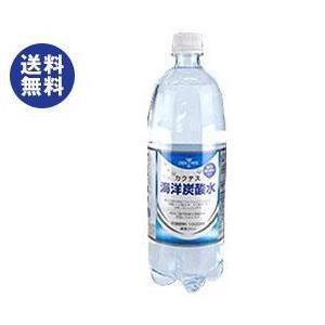 【送料無料】木村飲料 カクテス 海洋炭酸水 1000mlペットボトル×12本入|nozomi-market