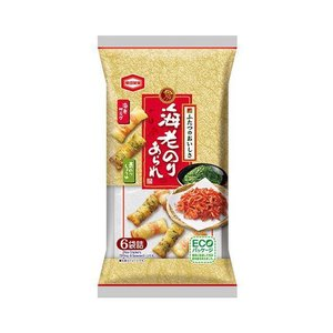 【送料無料】亀田製菓 海老のりあられ 73g×12袋入|nozomi-market