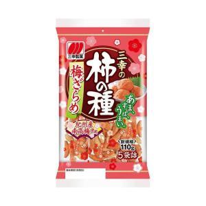 送料無料 三幸製菓 三幸の柿の種 梅ざらめ 131g×12個入|nozomi-market