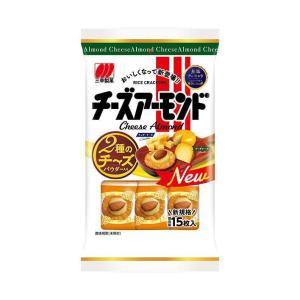 送料無料 三幸製菓 チーズアーモンド 16枚×16袋入|nozomi-market