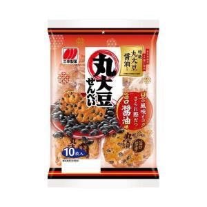 【送料無料】三幸製菓 丸大豆せんべい 11枚×12個入|nozomi-market