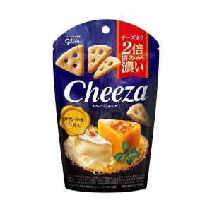 【送料無料】グリコ 生チーズのチーザ カマンベール仕立て 40g×10袋入