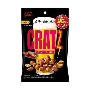 【送料無料】グリコ クラッツ ペッパーベーコン 42g×10袋入