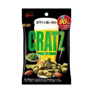 【送料無料】グリコ クラッツ 枝豆 42g×10袋入