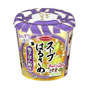 送料無料 エースコック スープはるさめ 柚子ぽん酢味 32g×12(6×2)個入|nozomi-market
