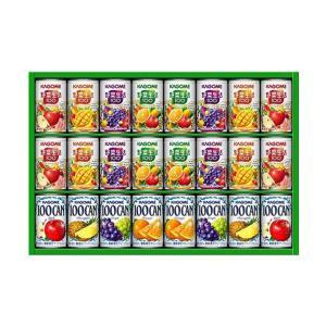送料無料 カゴメ フルーツ+野菜飲料ギフト KSR-30L|nozomi-market