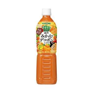 【送料無料】カゴメ 野菜生活100 まろやか温州みかんミックス 720mlペットボトル×15本入 nozomi-market