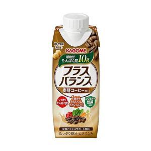 送料無料 カゴメ プラスバランス 麦芽コーヒーMix 250g紙パック×12本入|nozomi-market