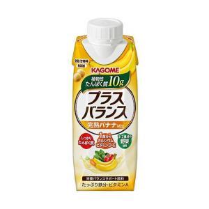 送料無料 カゴメ プラスバランス 完熟バナナMix 250g紙パック×12本入|nozomi-market