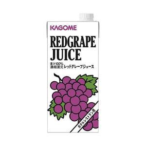 【送料無料】【2ケースセット】カゴメ レッドグレープジュース(ホテルレストラン用) 1L紙パック×12(6×2)本入×(2ケース)|nozomi-market