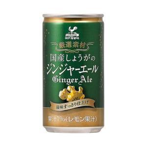 【送料無料】富永貿易 神戸居留地 国産しょうがのジンジャーエール 185ml缶×20本入|nozomi-market